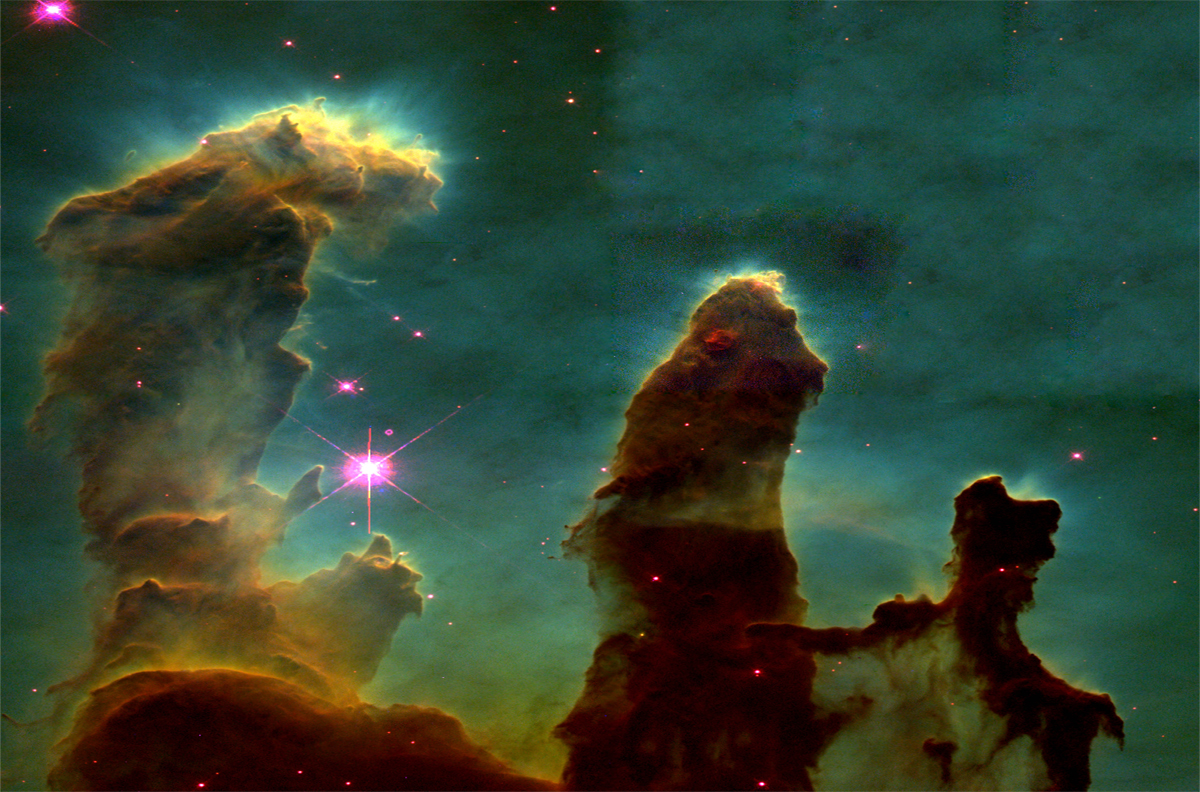 Hubble photography | God Seen in His Universe